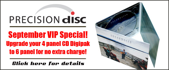 Eco-friendly CD Digipak from Precision Disc Manufacturing Corp.